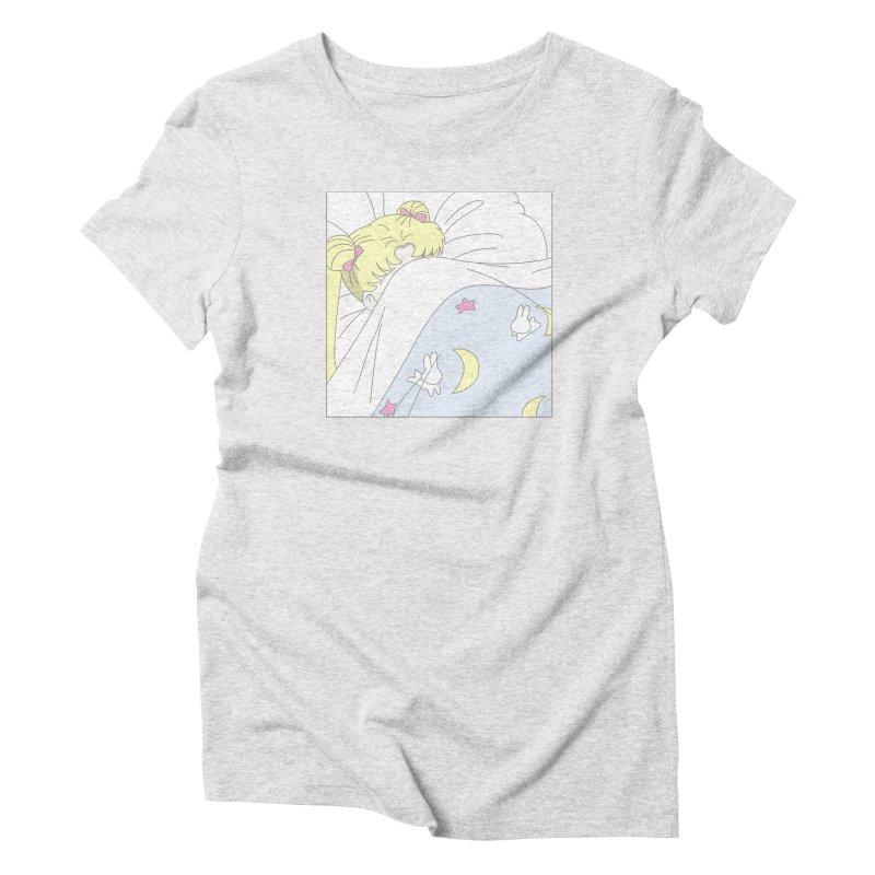 Sleepy Sailor Women's Triblend T-Shirt by TDUB951