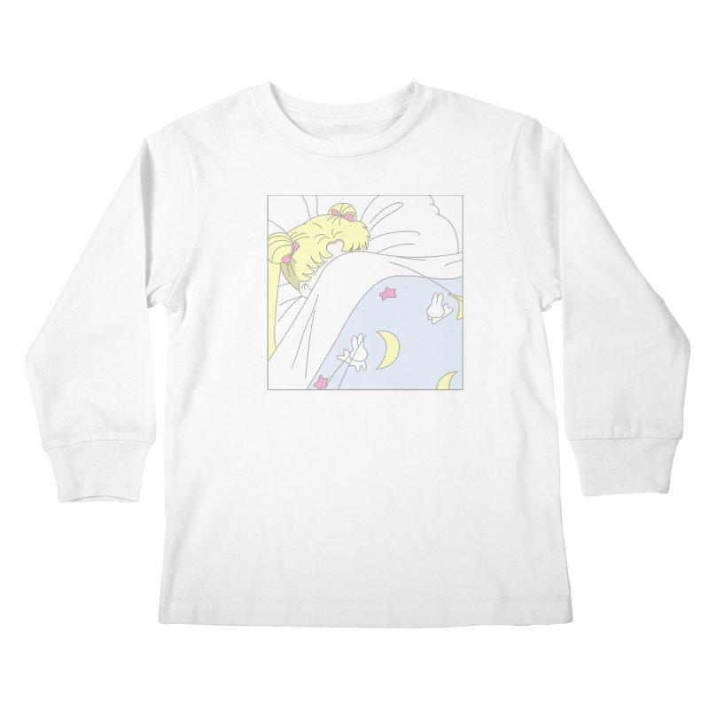 Sleepy Sailor Kids Longsleeve T-Shirt by TDUB951