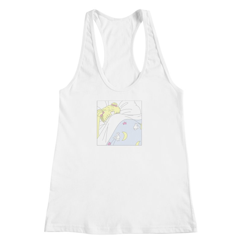 Sleepy Sailor Women's Racerback Tank by TDUB951