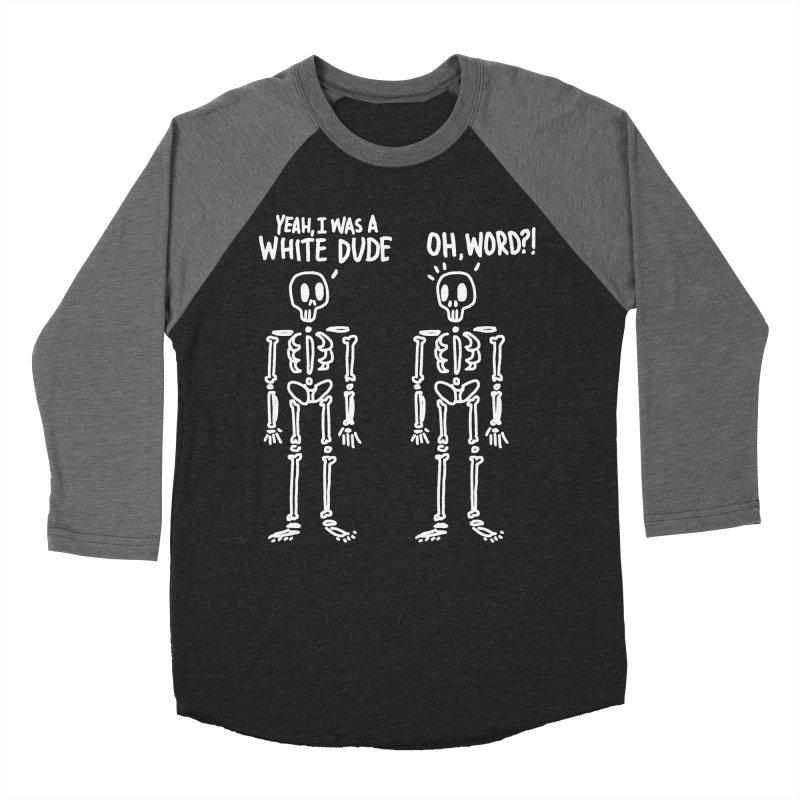 Oh Word?! Men's Baseball Triblend Longsleeve T-Shirt by TDUB951