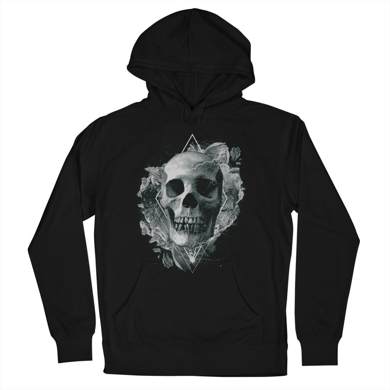 Space Skull Men's French Terry Pullover Hoody by TDUB951