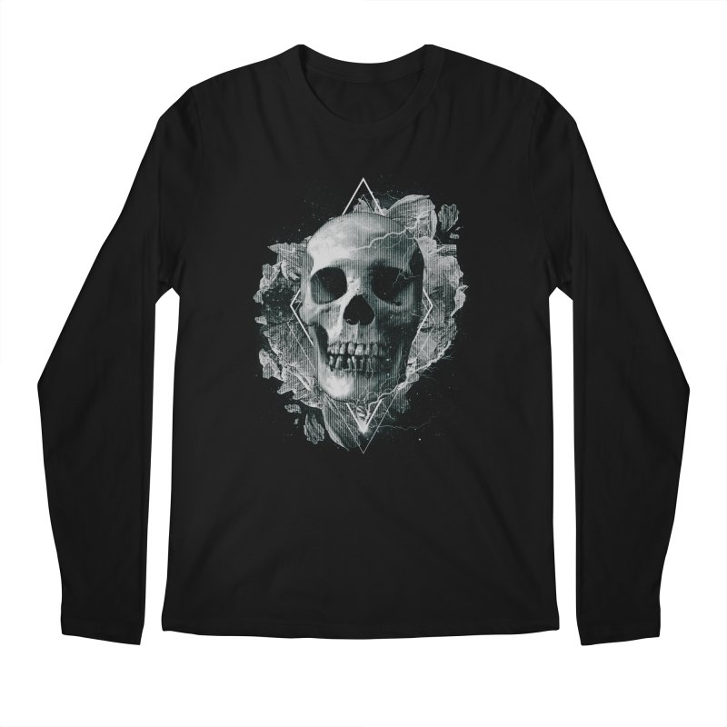Space Skull Men's Regular Longsleeve T-Shirt by TDUB951