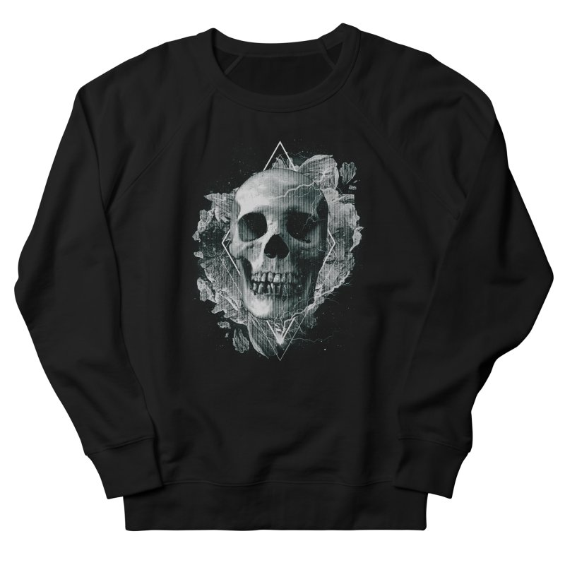 Space Skull Women's French Terry Sweatshirt by TDUB951