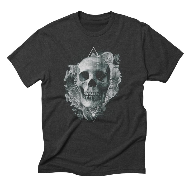 Space Skull Men's Triblend T-Shirt by TDUB951