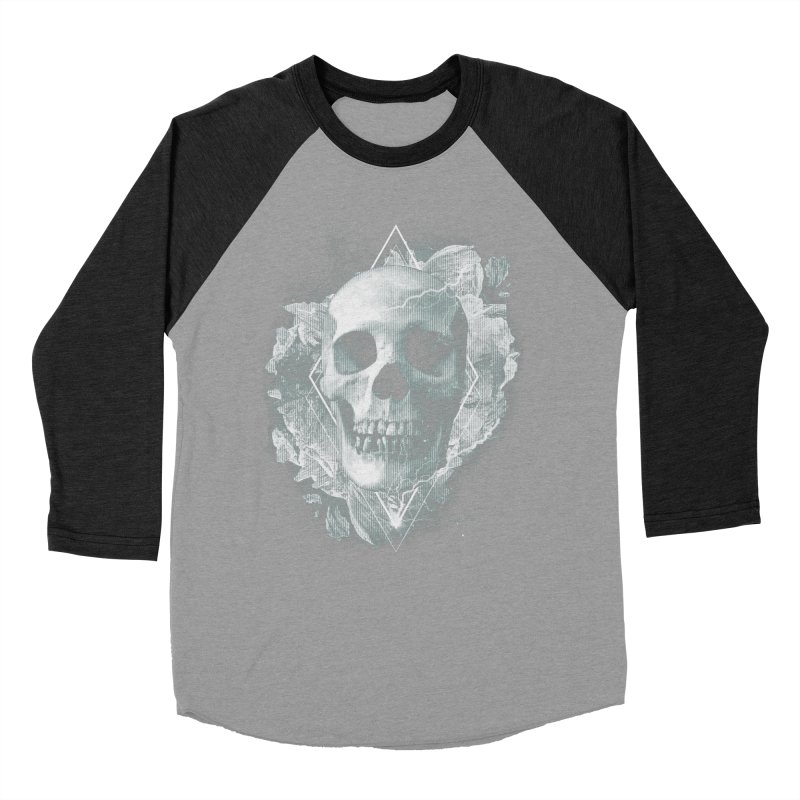 Space Skull Women's Baseball Triblend Longsleeve T-Shirt by TDUB951
