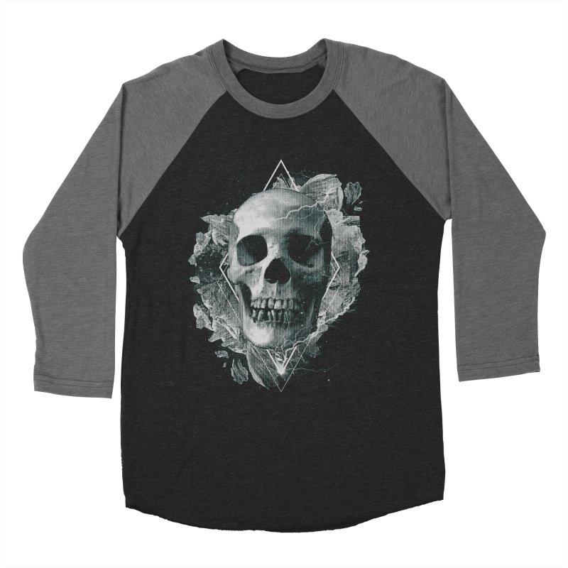 Space Skull Men's Baseball Triblend Longsleeve T-Shirt by TDUB951