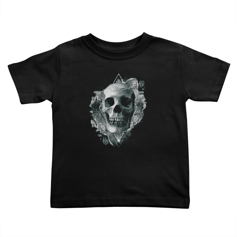 Space Skull Kids Toddler T-Shirt by TDUB951