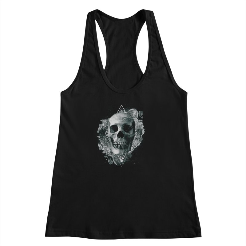 Space Skull Women's Racerback Tank by TDUB951