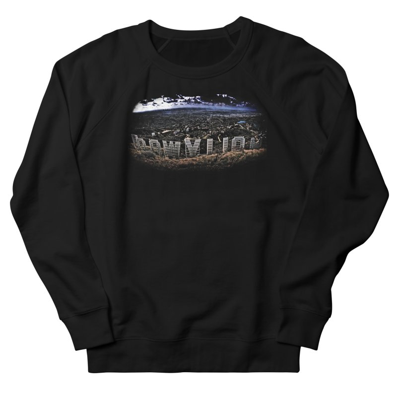 Hollywood Hike Men's French Terry Sweatshirt by TDUB951