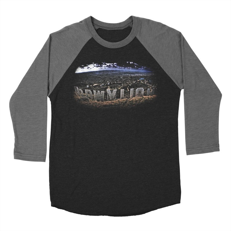 Hollywood Hike Men's Baseball Triblend Longsleeve T-Shirt by TDUB951
