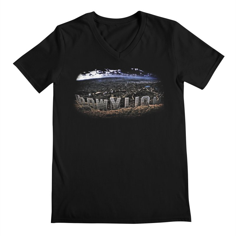 Hollywood Hike Men's Regular V-Neck by TDUB951
