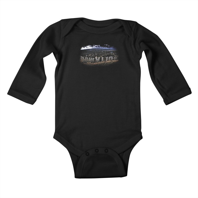 Hollywood Hike Kids Baby Longsleeve Bodysuit by TDUB951