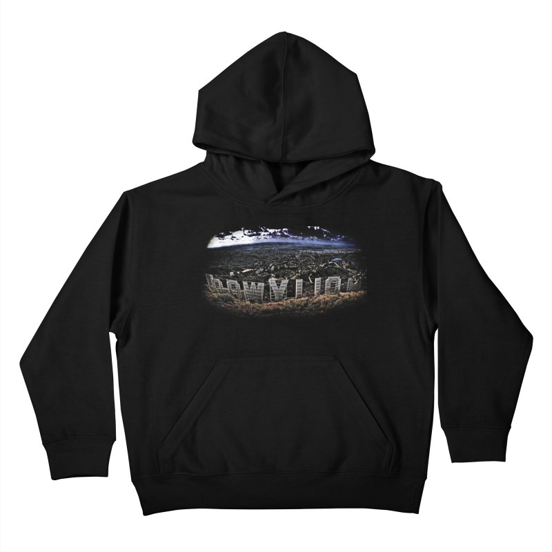 Hollywood Hike Kids Pullover Hoody by TDUB951
