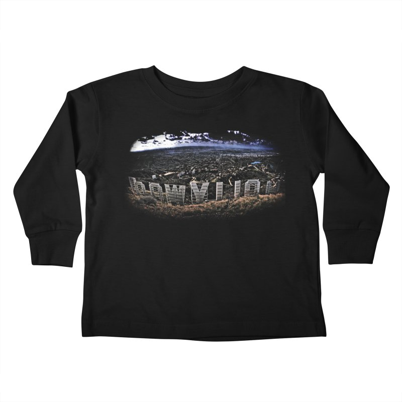 Hollywood Hike Kids Toddler Longsleeve T-Shirt by TDUB951