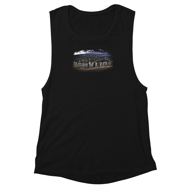 Hollywood Hike Women's Muscle Tank by TDUB951