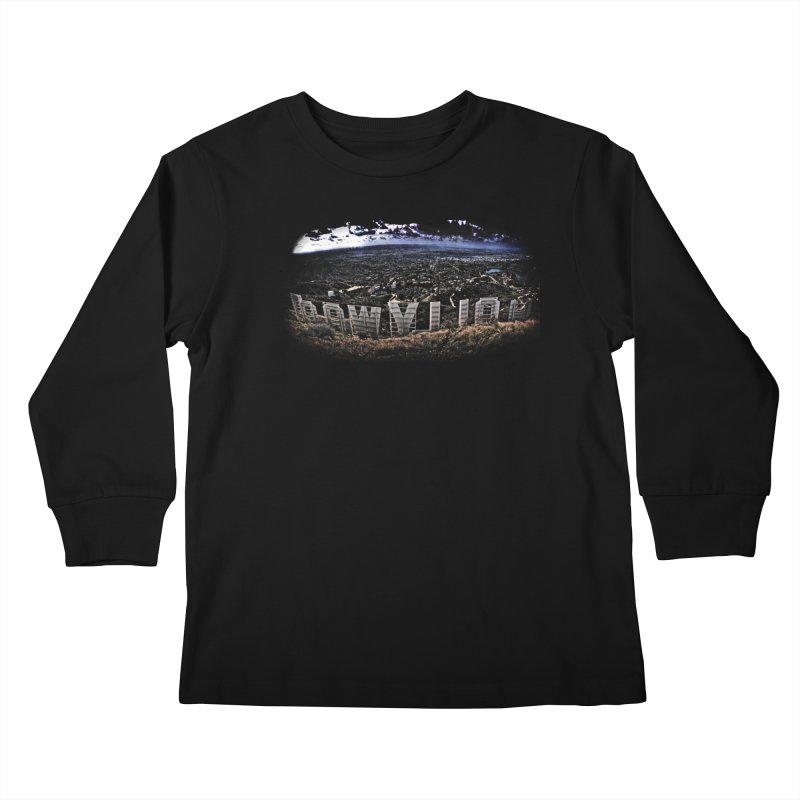 Hollywood Hike Kids Longsleeve T-Shirt by TDUB951