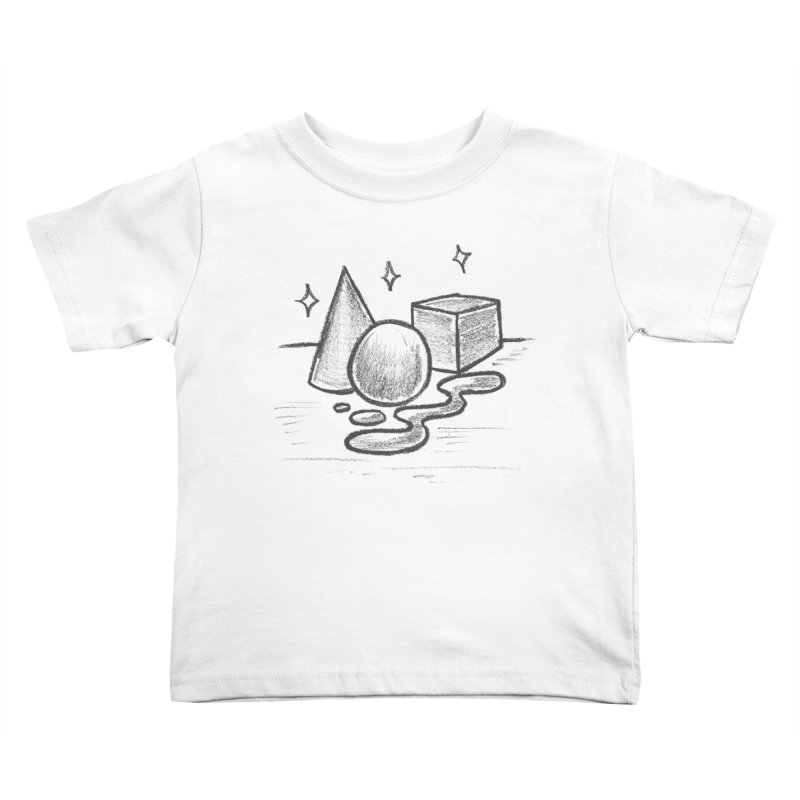 Crayon Shapes Kids Toddler T-Shirt by TDUB951