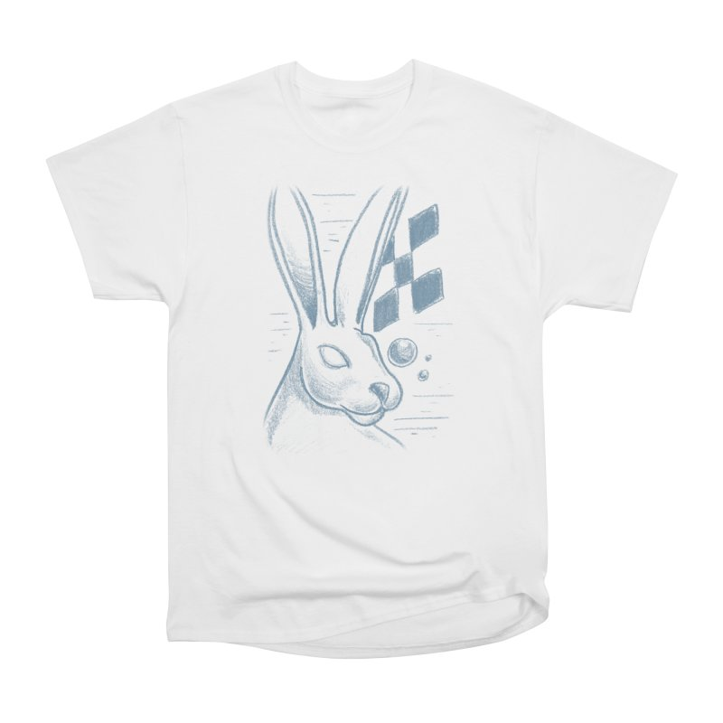 Rabbit Women's Heavyweight Unisex T-Shirt by TDUB951