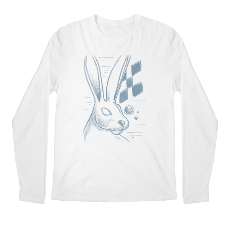 Rabbit Men's Regular Longsleeve T-Shirt by TDUB951