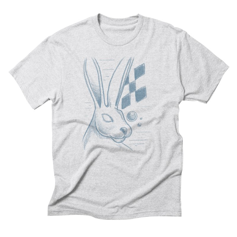 Rabbit Men's Triblend T-Shirt by TDUB951