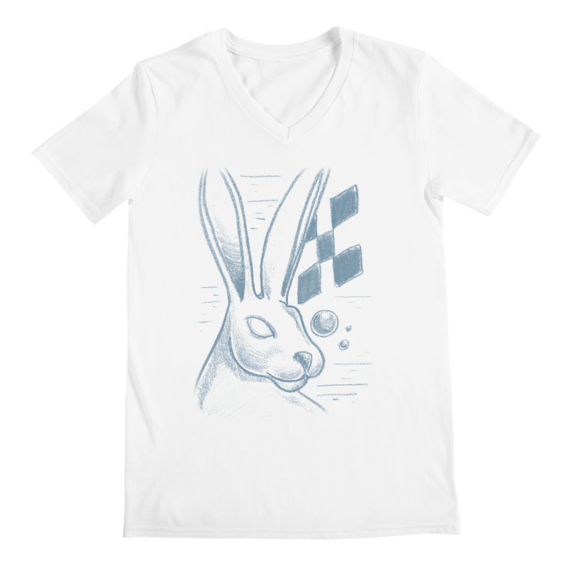 Rabbit Men's Regular V-Neck by TDUB951