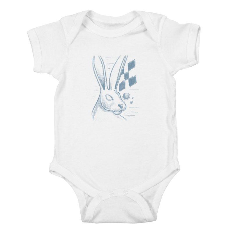 Rabbit Kids Baby Bodysuit by TDUB951