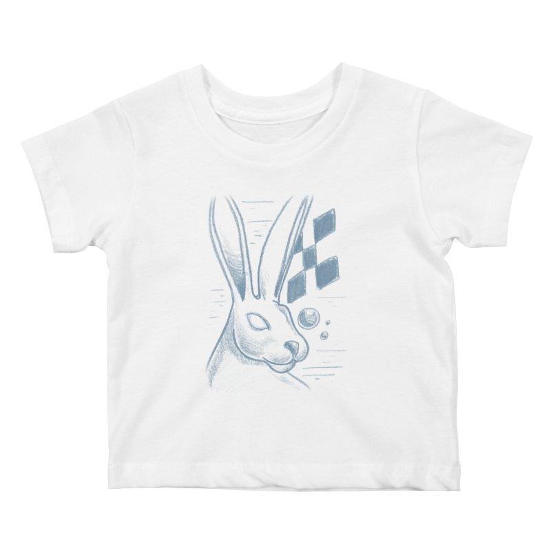 Rabbit Kids Baby T-Shirt by TDUB951