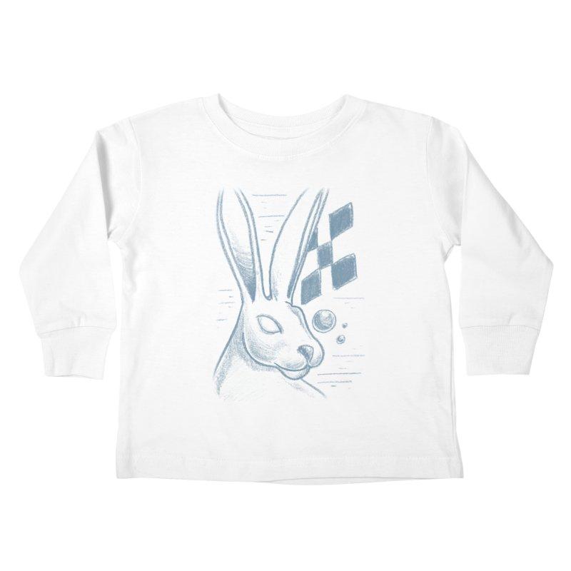 Rabbit Kids Toddler Longsleeve T-Shirt by TDUB951