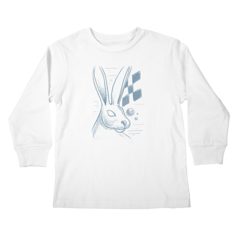 Rabbit Kids Longsleeve T-Shirt by TDUB951