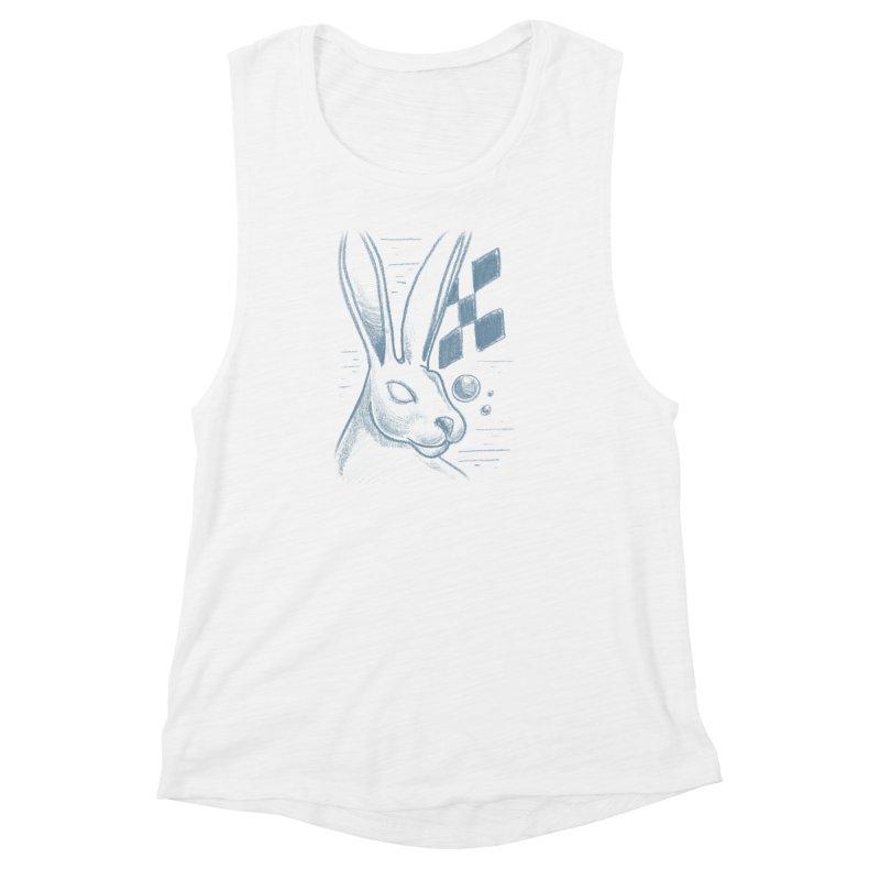 Rabbit Women's Muscle Tank by TDUB951