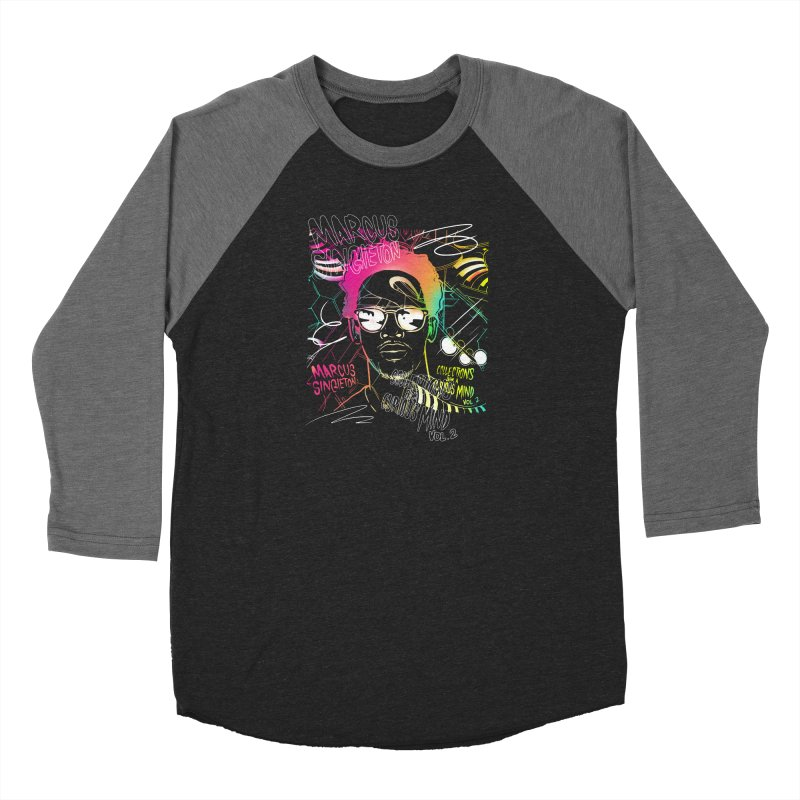 Marcus Singleton - Collections From A Curious Mind / Vol.2 Men's Baseball Triblend Longsleeve T-Shirt by TDUB951