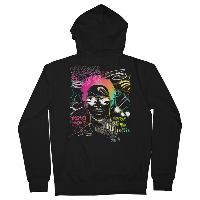 Marcus Singleton - Collections From A Curious Mind / Vol.2 Women's French Terry Zip-Up Hoody by TDUB951