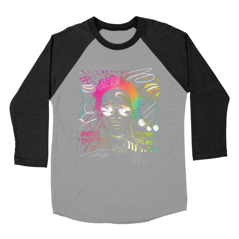 Marcus Singleton - Collections From A Curious Mind / Vol.2 Women's Baseball Triblend Longsleeve T-Shirt by TDUB951