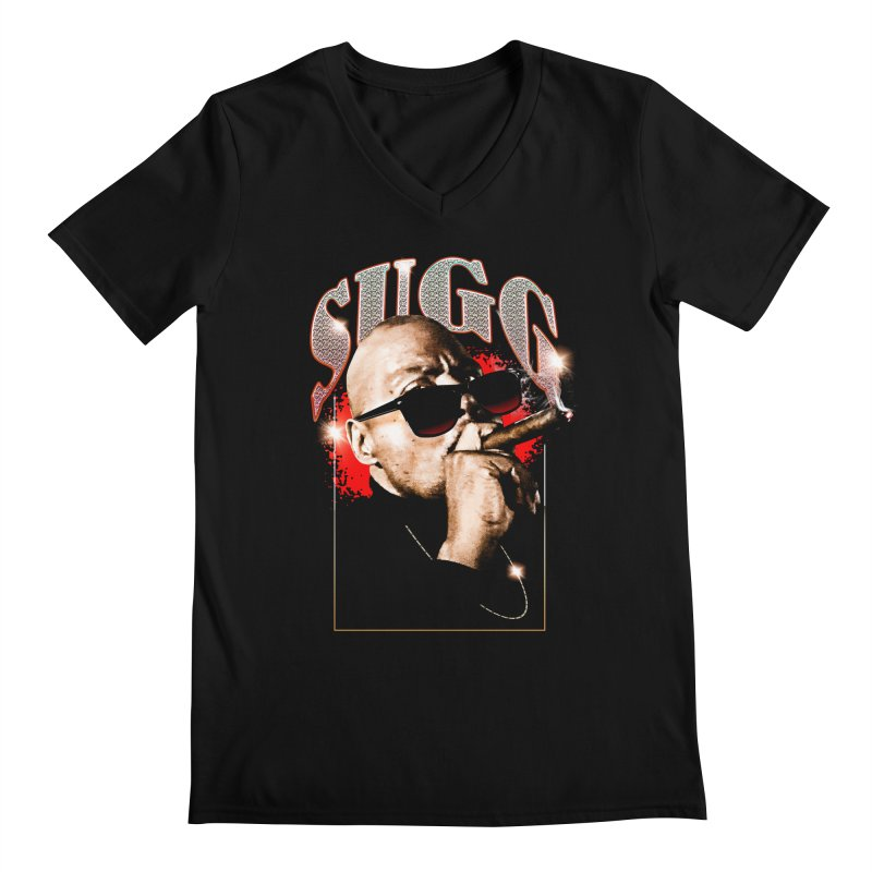 SUGG Men's Regular V-Neck by TDUB951