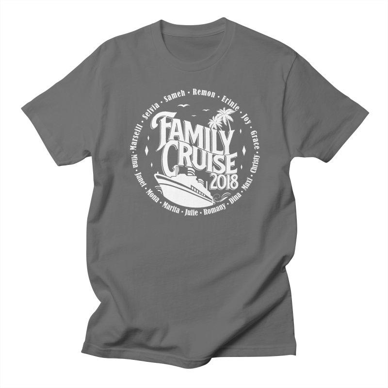 Family Cruise 2018 - White Print Men's T-Shirt by TDUB951