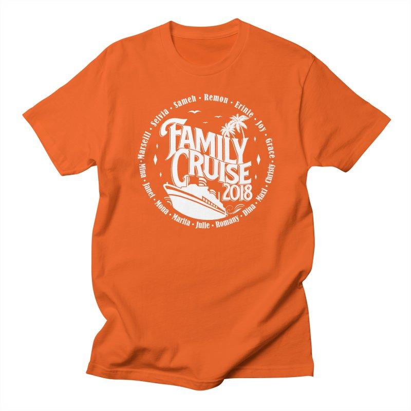 Family Cruise 2018 - White Print Women's Regular Unisex T-Shirt by TDUB951