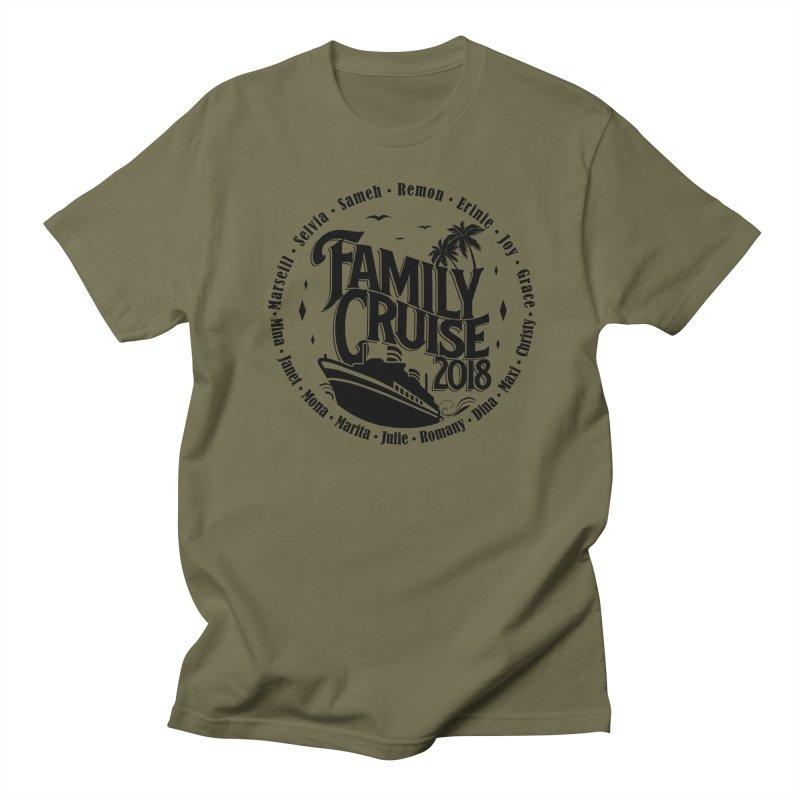 Family Cruise 2018 - Black Print Women's Regular Unisex T-Shirt by TDUB951