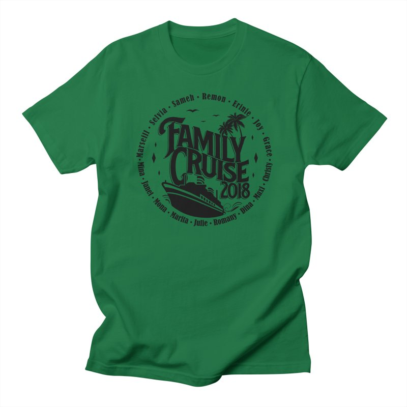 Family Cruise 2018 - Black Print Women's T-Shirt by TDUB951