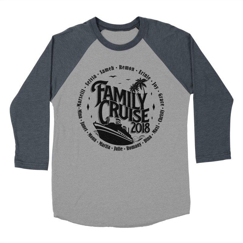 Family Cruise 2018 - Black Print Women's Baseball Triblend Longsleeve T-Shirt by TDUB951