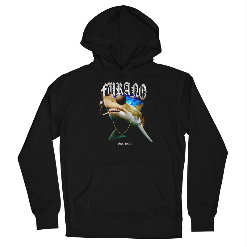 Haley Shark Men's French Terry Pullover Hoody by TDUB951