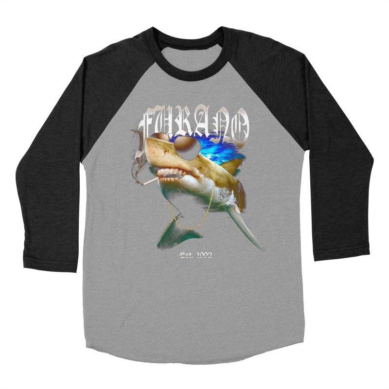 Haley Shark Women's Baseball Triblend Longsleeve T-Shirt by TDUB951