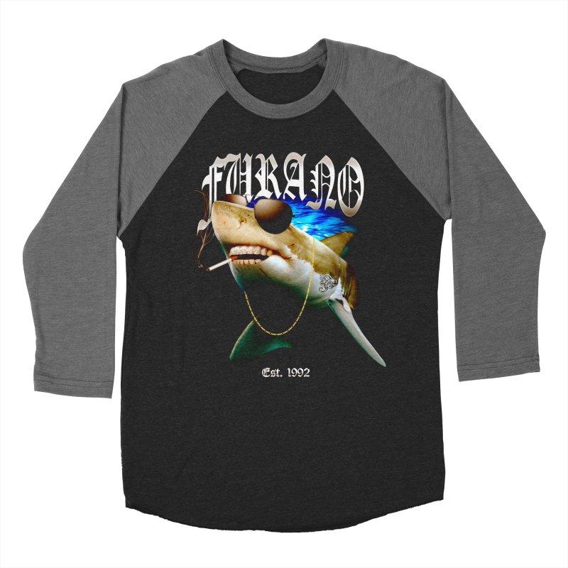 Haley Shark Men's Baseball Triblend Longsleeve T-Shirt by TDUB951