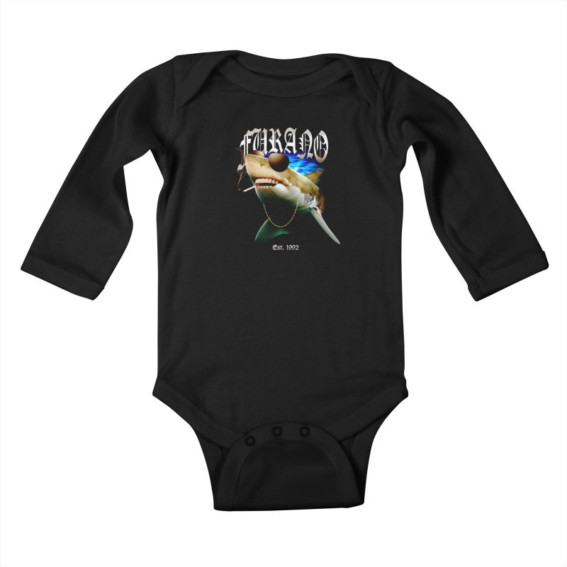 Haley Shark Kids Baby Longsleeve Bodysuit by TDUB951