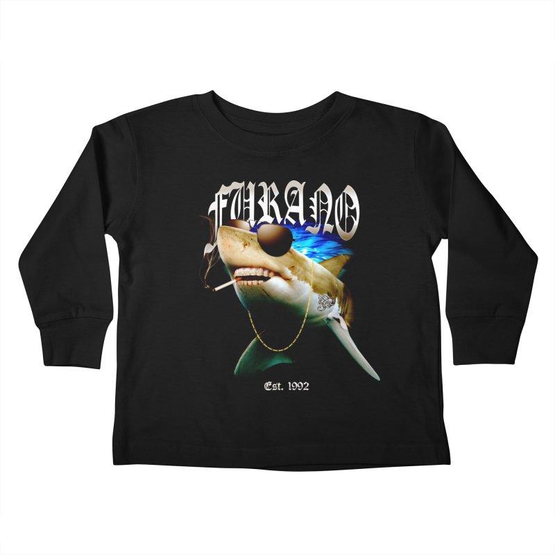 Haley Shark Kids Toddler Longsleeve T-Shirt by TDUB951