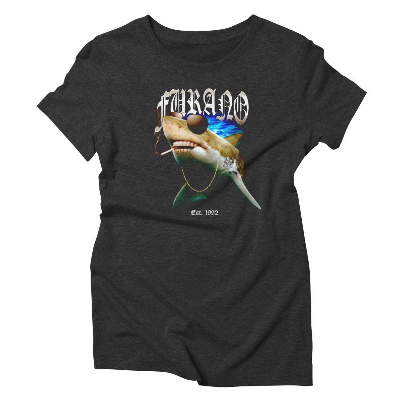 Haley Shark Women's Triblend T-Shirt by TDUB951
