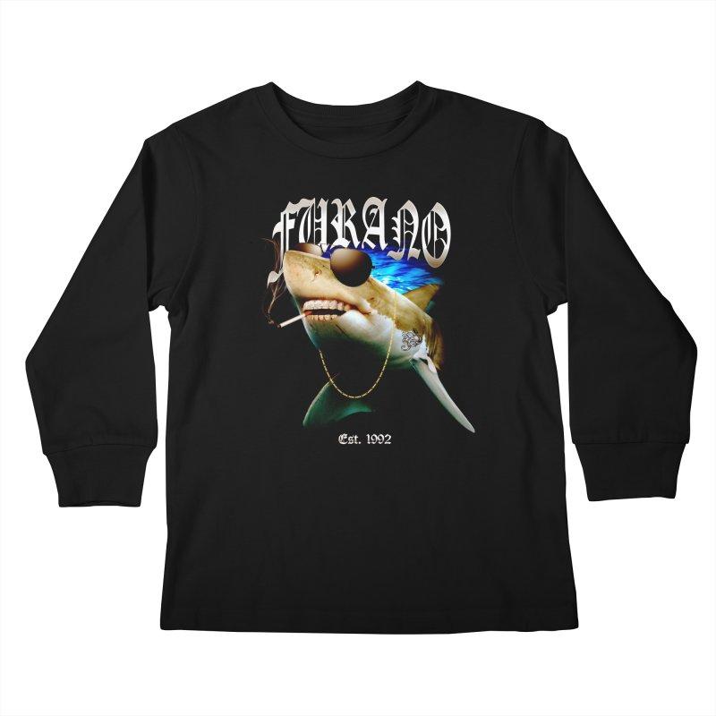 Haley Shark Kids Longsleeve T-Shirt by TDUB951