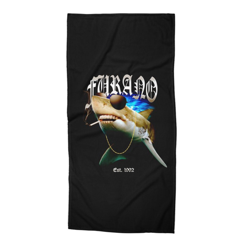 Haley Shark Accessories Beach Towel by TDUB951