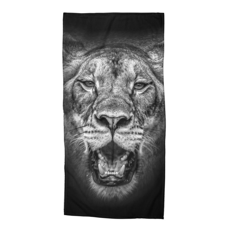 Lioness - @victorfernandesphotography Accessories Beach Towel by TDUB951