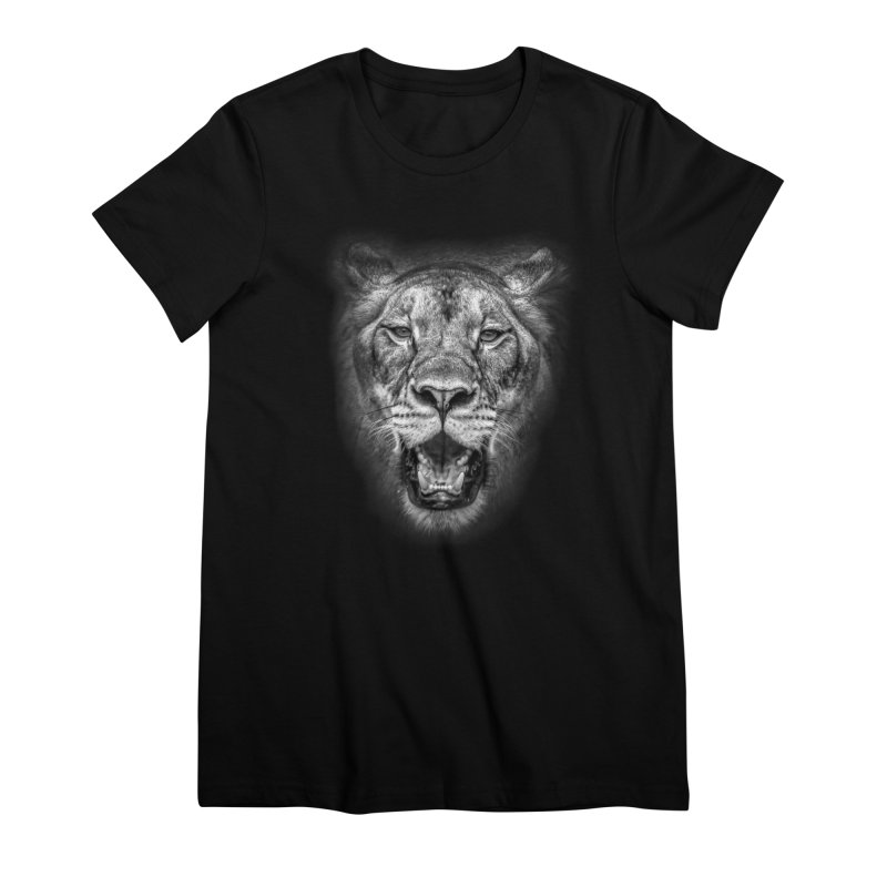 Lioness - @victorfernandesphotography Women's Premium T-Shirt by TDUB951