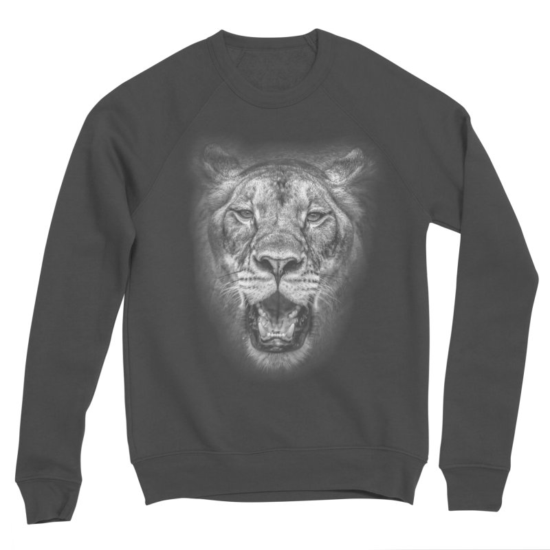 Lioness - @victorfernandesphotography Women's Sponge Fleece Sweatshirt by TDUB951